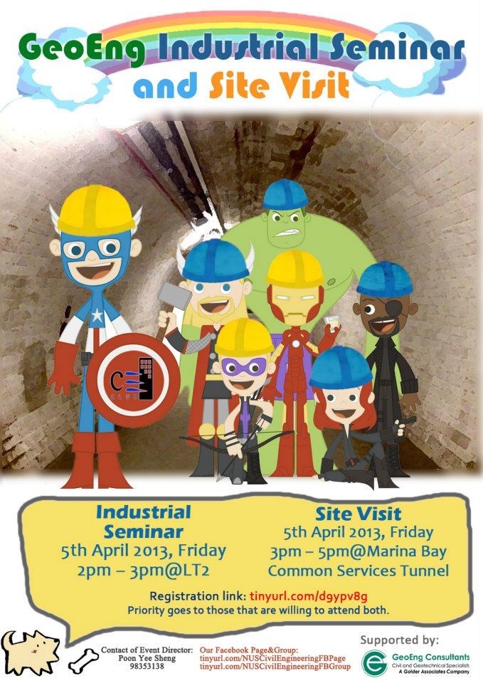GeoEng Industrial Seminar and Site Visit