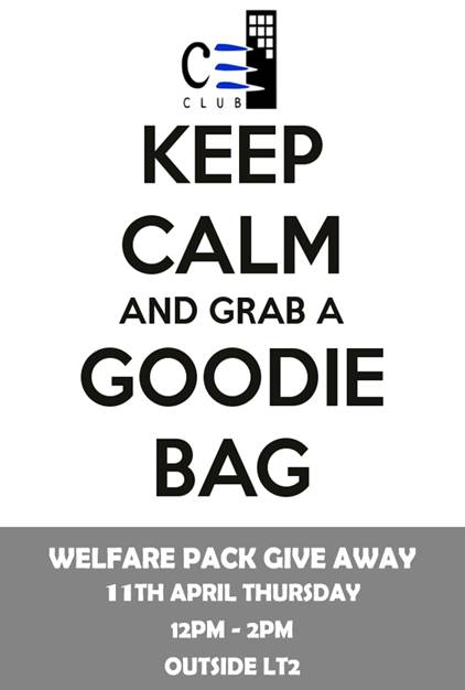 Welfare Pack Giveaway