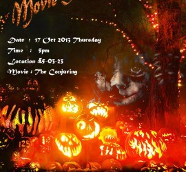 Halloween Special Movie Screening